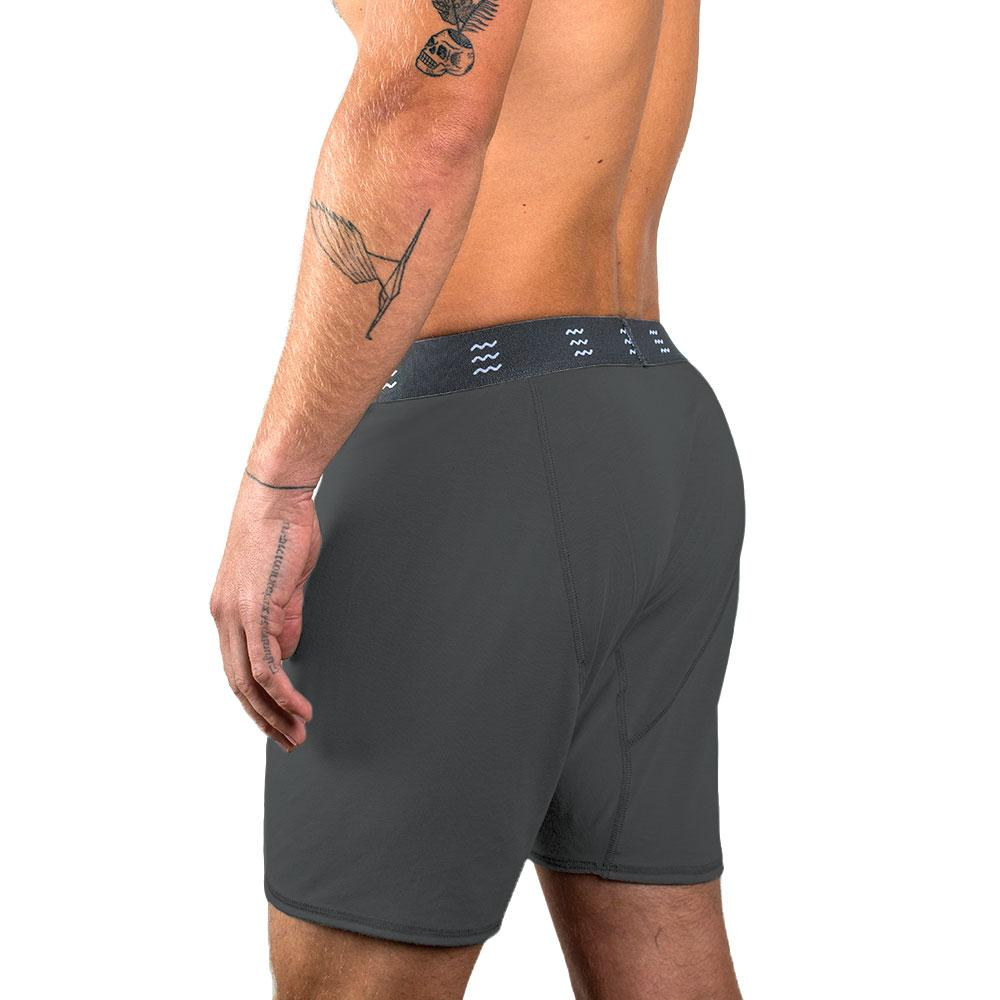 Bamboo Boxer Brief/Charcoal