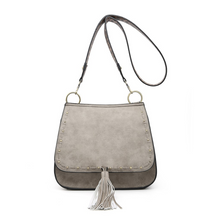Load image into Gallery viewer, Bailey Grey Crossbody