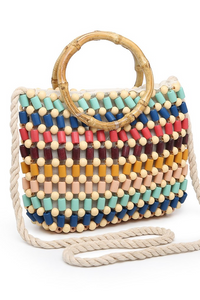 Dominique Beaded Crossbody
