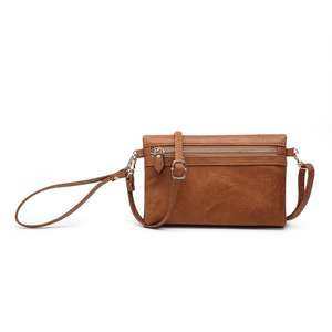 Kelly Brown Wallet/Crossbody