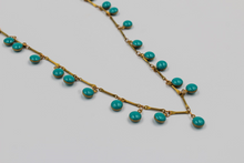 Load image into Gallery viewer, Cherrah Boho Layering Necklace - Teal