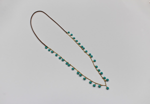 Cherrah Boho Layering Necklace - Teal