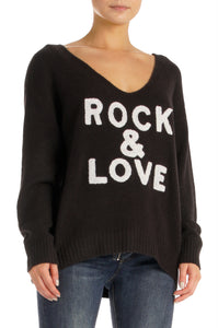 Hayden Rock and Love Sweater