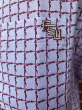 Load image into Gallery viewer, FSU Spear White Button Down
