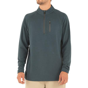 Free Fly Bamboo Fleece Quarter Zip - Blue Dusk