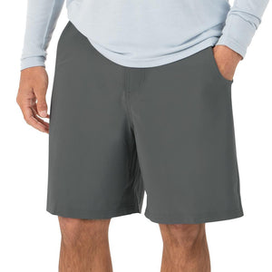 Men's Free Fly Bamboo Hybrid Shorts Charcoal