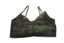 Load image into Gallery viewer, Camo Seamless Bra w/Lace
