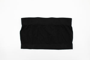 Black Basic Bandeau