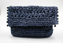 Load image into Gallery viewer, Linda Clutch-Navy