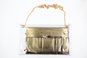 Touchdown Clear Crossbody w/ Removable Compartment