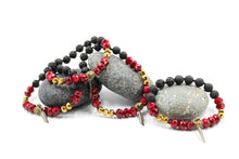 Load image into Gallery viewer, Becky's Lava Rock Diffuser Bracelet