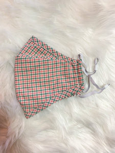 Assorted Plaid Face Mask