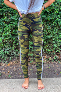 Stripe Camo Legging