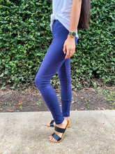 Load image into Gallery viewer, Navy Leggings