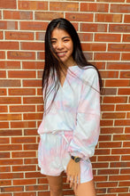 Load image into Gallery viewer, Zoe Pastel Tie Dye Loungewear Set