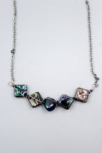 Load image into Gallery viewer, Becky's Albalone Necklace with Fresh Water Pearl