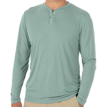 Load image into Gallery viewer, Bamboo Cruiser Henley - Keys Green