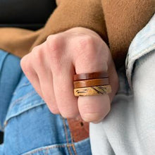 Load image into Gallery viewer, Molly's Rings - Walnut