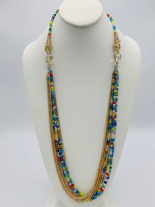 "Safari 36"" Athena Necklace - Multi"