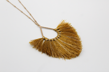 Load image into Gallery viewer, Hargreeves Thread Tassel w/Gold Accents