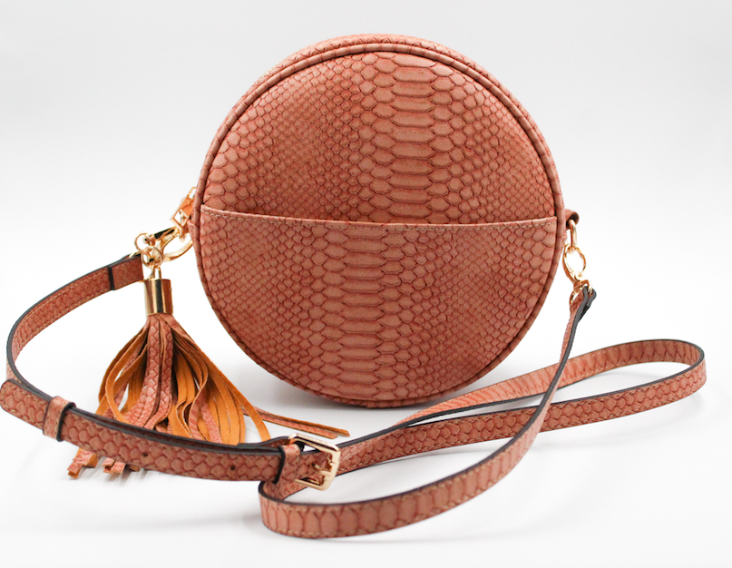 Richmond Round Crossbody w/Tassel