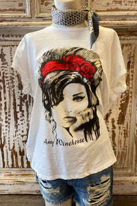 Vintage Band Tee - Amy Winehouse