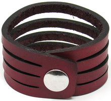 Load image into Gallery viewer, Hometown I Slice Cut Cuff-Garnet