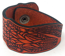Load image into Gallery viewer, Hometown I Big Gator Cuff-Orange