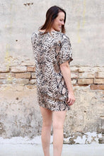 Load image into Gallery viewer, Cori Snakeskin Shift Dress