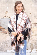 Load image into Gallery viewer, Caylan Plaid Scarf