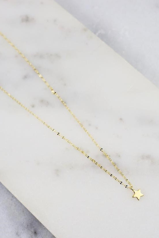 Columbia Delicate Star Necklace