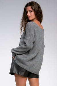 Remington Rock Charcoal  Sweater