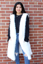 Load image into Gallery viewer, Adalee Faux Fur Vest