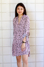 Load image into Gallery viewer, Myla Mauve Leopard Print