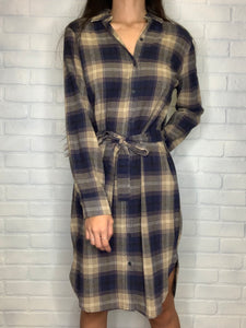 Polly Plaid Dress