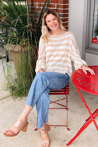 Elisa Striped Sweater