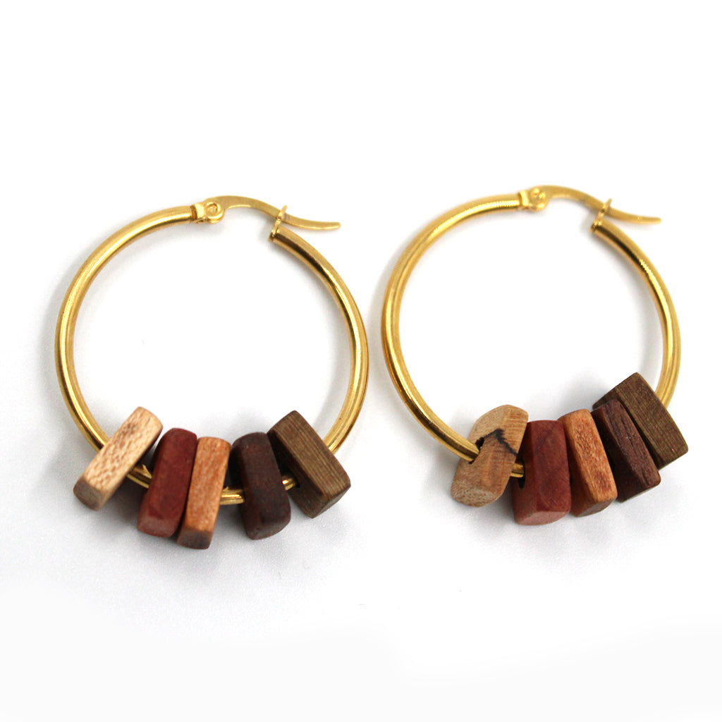 Molly's Angie Earrings-Gold
