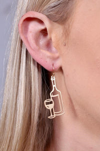 Put a Cork in it Earring