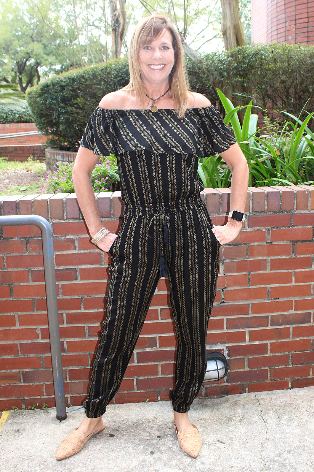 Quinn Black Jumpsuit