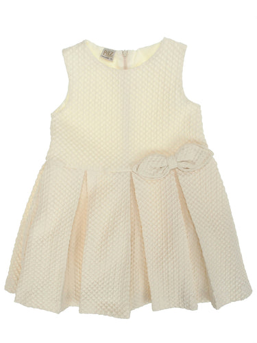 Paz Rodriguez Dress Cream - Isla