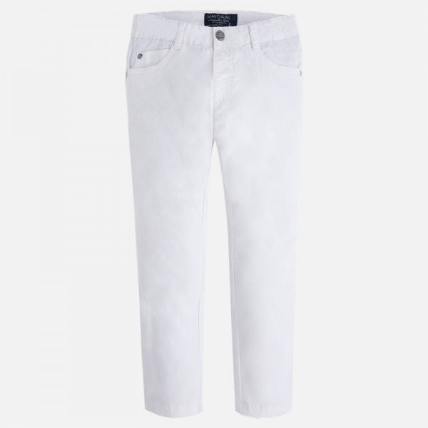 Mayoral White Trousers
