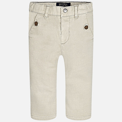 Mayoral Baby Boy Beige Pants