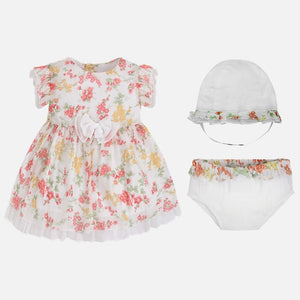 Mayoral Baby Girl Printed Dress Set