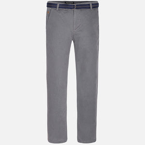 MAYORAL GREY PANTS WITH BELT
