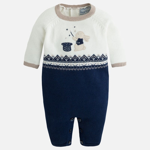 Mayoral Baby Boy Knitted Onesie