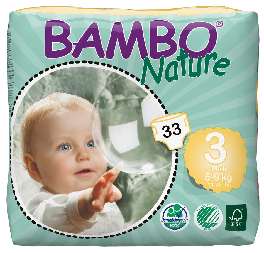Bambo Nature Diapers Size 3