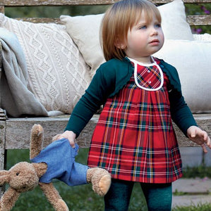 Mayoral Baby Tartan Dress