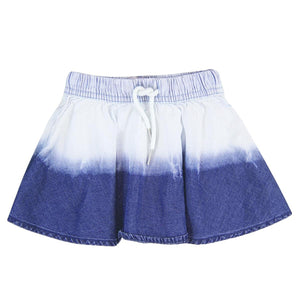 Boboli Girls Denim Ombre Skirt