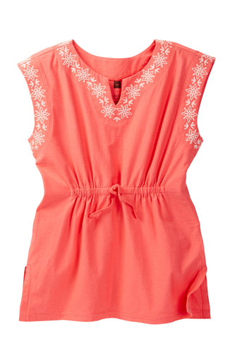 Tea Collection Sorrento Embroidered Cover-Up Dress