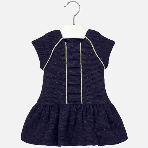 Mayoral Navy Dress with sparkles